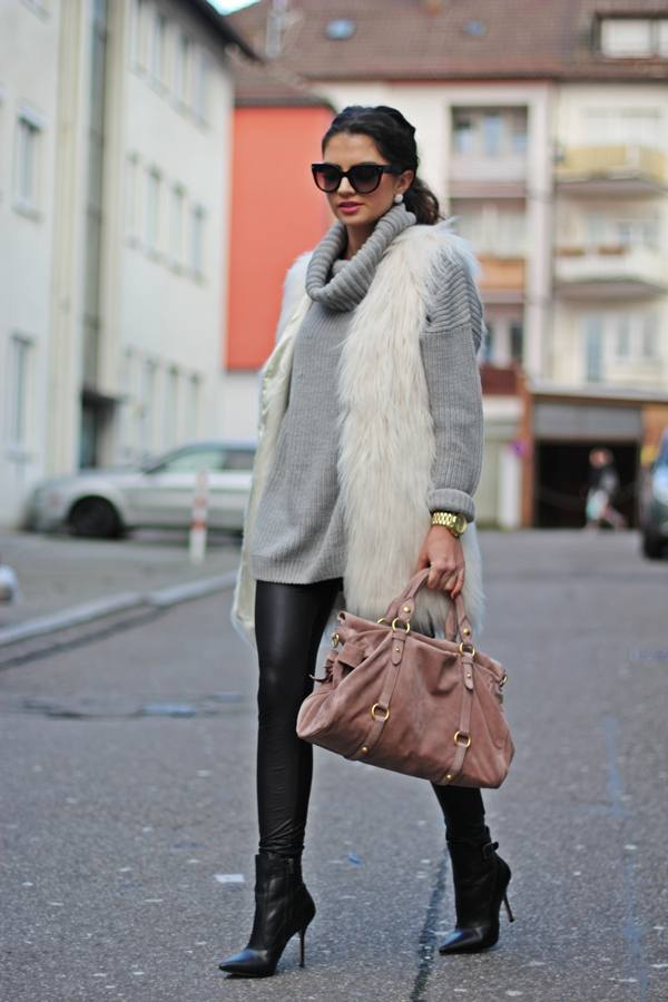 How to Wear Fur Vest: 18 Inspiring Outfit Ideas for This Season
