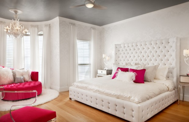 20 girly bedroom design ideas for teenage girls style for Girly bedroom ideas