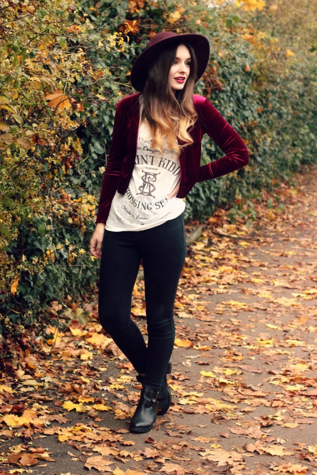 22 Stylish Outfit Ideas with Hats for Trendy Fall Look