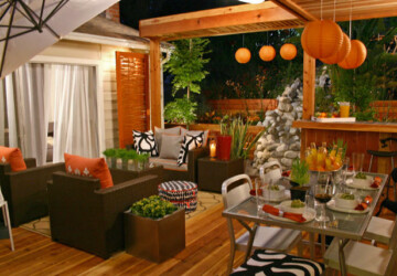 Autumn Guide to Outdoor Entertaining - sconces, outdoor, heat lamp, Guide to Outdoor Entertaining, fall entertaining, Entertaining