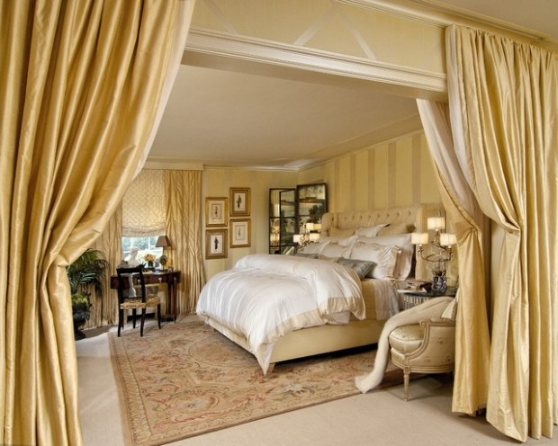 20 elegant luxury master bedroom design ideas style for Pics of luxury bedrooms