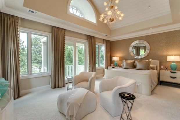 20 elegant luxury master bedroom design ideas style motivation for Elegant master bedroom designs