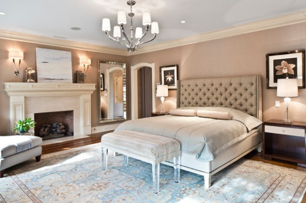 20 elegant luxury master bedroom design ideas style for Luxury master bedroom designs