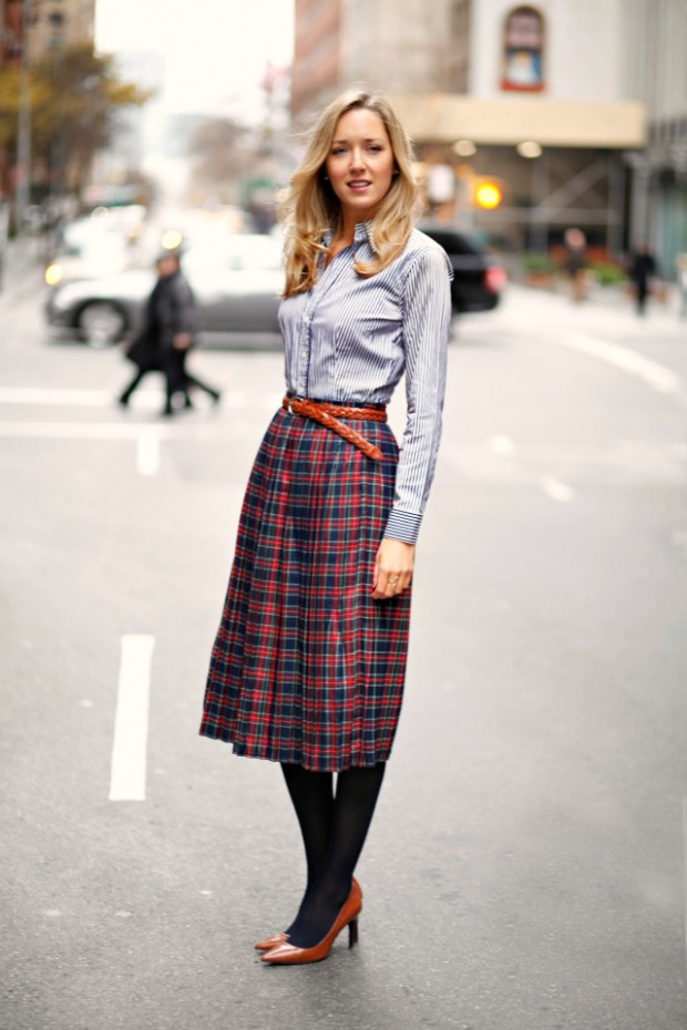 How to Wear Plaid this Fall: 21 Stylish Outfits to Inspire You