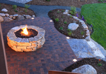 4 DIY Fire Pits for Any Space - fireplace, fire pit, DIY Fire Pits, Design Sponge