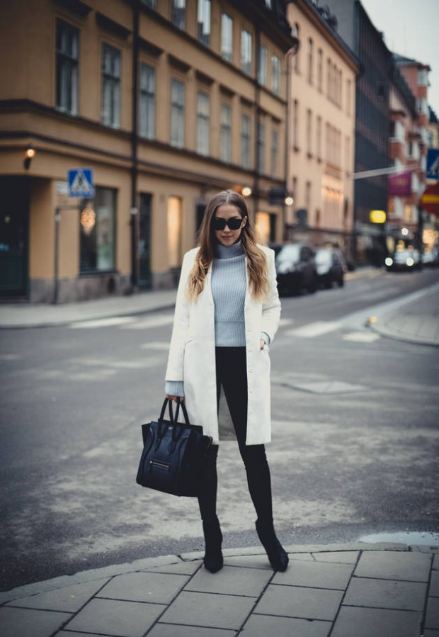 White Coat  Must Have Fashion Piece for This Season