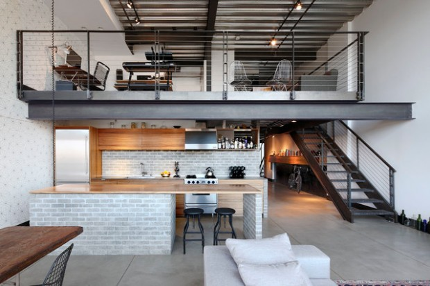 21 Contemporary Loft Apartment Design Ideas - Style Motivation