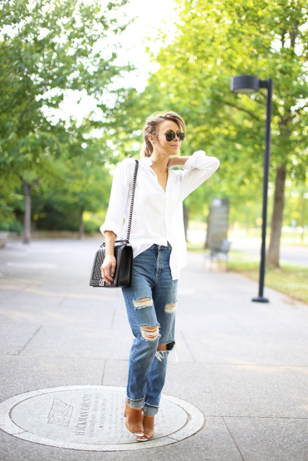 How to Wear the Essentials: Basic White Dress Shirt