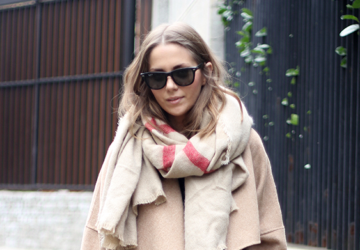 Oversized Scarf - Perfect Accessory for Street Style Look   - winter outfit, scarves, Scarf, oversized scarf, outfit