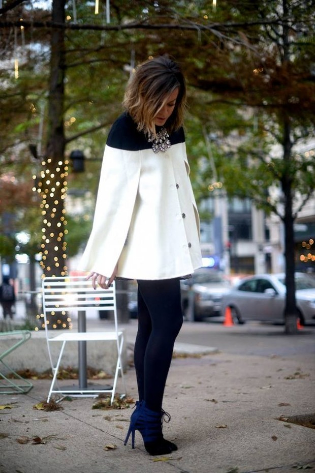 How to Wear Cape: 16 Stylish Outfit Ideas