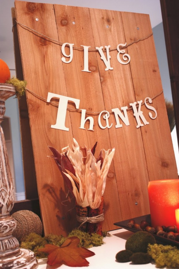 17 Creative and Fun DIY Decorations for Thanksgiving Holiday - Style ...