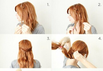 18 Easy Step by Step Tutorials for Perfect Hairstyles - step by step hairstyle tutorials, step by step, hairstyle tutorials, hairstyle ideas, diy hair