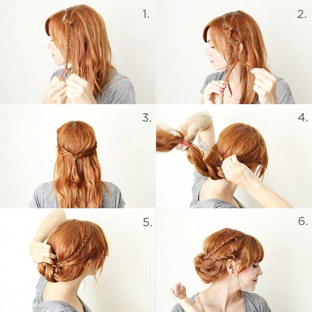 Creative Step_by_step_braids_picture_gallery_of_easy_hairstyles_step_by_step