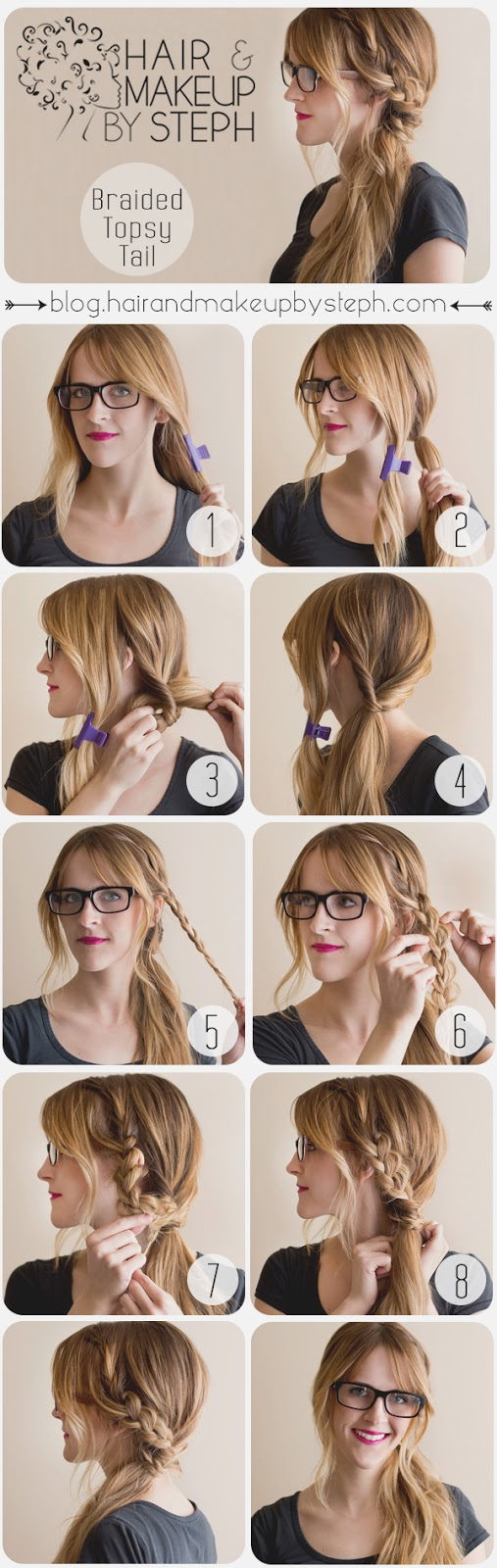 18 easy stepstep tutorials for perfect hairstyles - style motivation