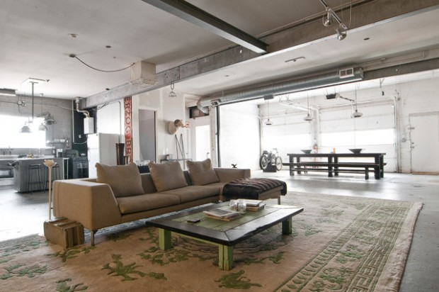 18 Fantastic Apartment Design Ideas in Industrial Style