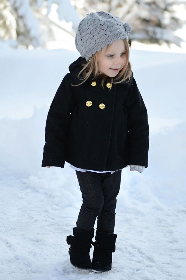 15 Adorable Little Girls Winter Outfit Ideas Style