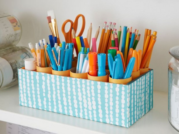18 Amazing DIY Ideas and Tricks to Organize Your Office