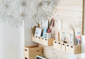 18 Amazing DIY Ideas and Tricks to Organize Your Office - organization tips, organization solutions, organization hacks, office organization, diy organization projects, diy office storage, diy office organization