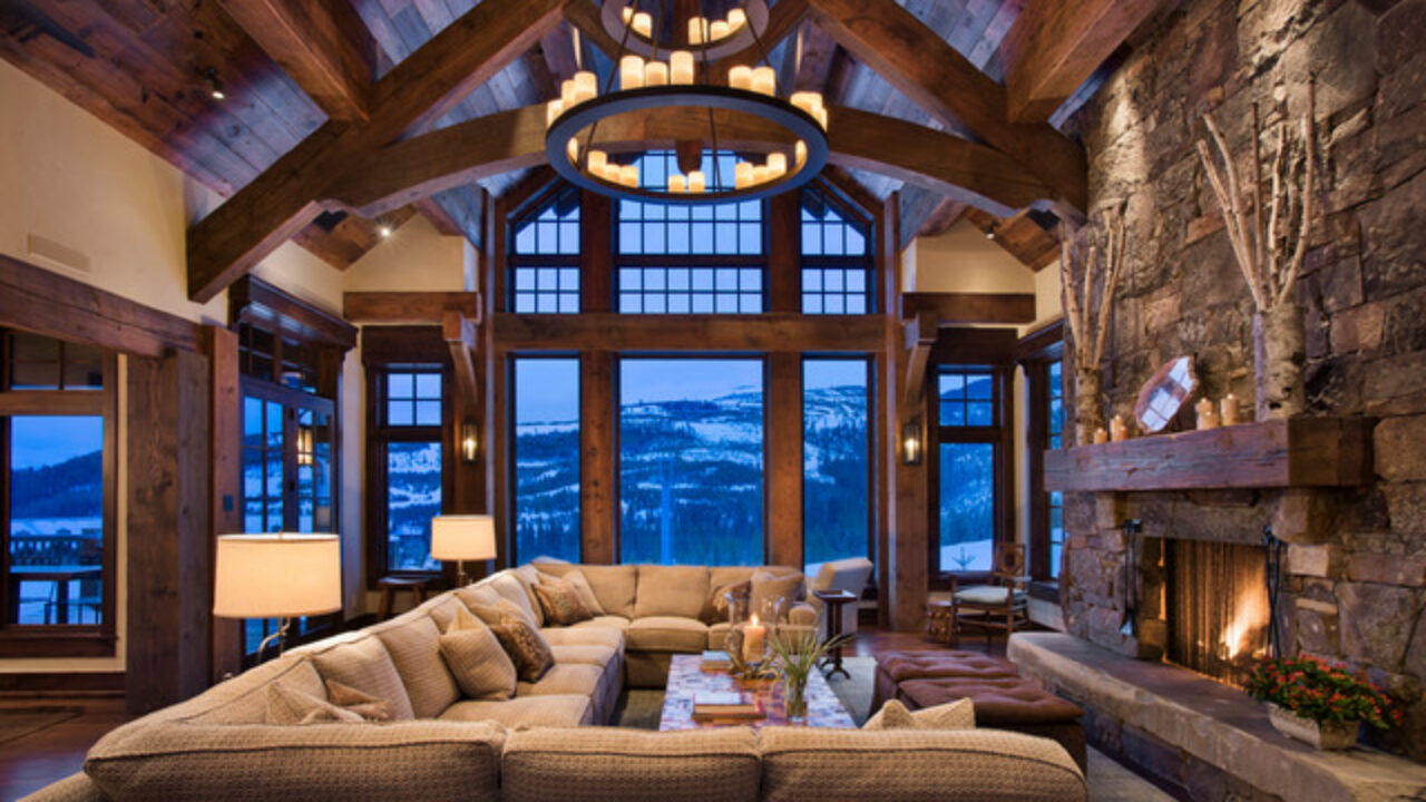 20 Cozy Rustic Living Room Design Ideas