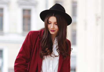 25 Impeccable Outfit Ideas with Hats for Classy Winter Look  - winter, Stylish, outfit for cold weather, outfit for cold days, hat, classy