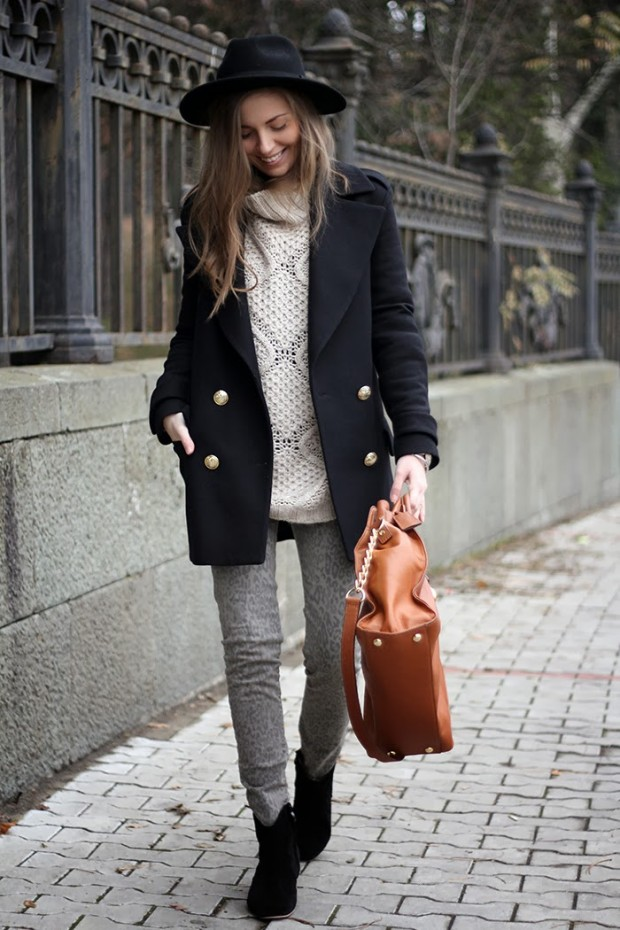 21 Stylish Outfit Ideas With Turtleneck