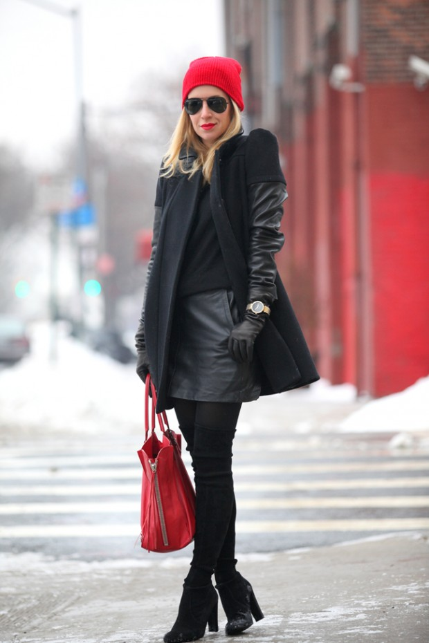 28 Stylish Sweater and Skirt Combinations for Winter Season