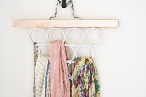 17 Clever DIY Clothing Organization Hacks  (1)