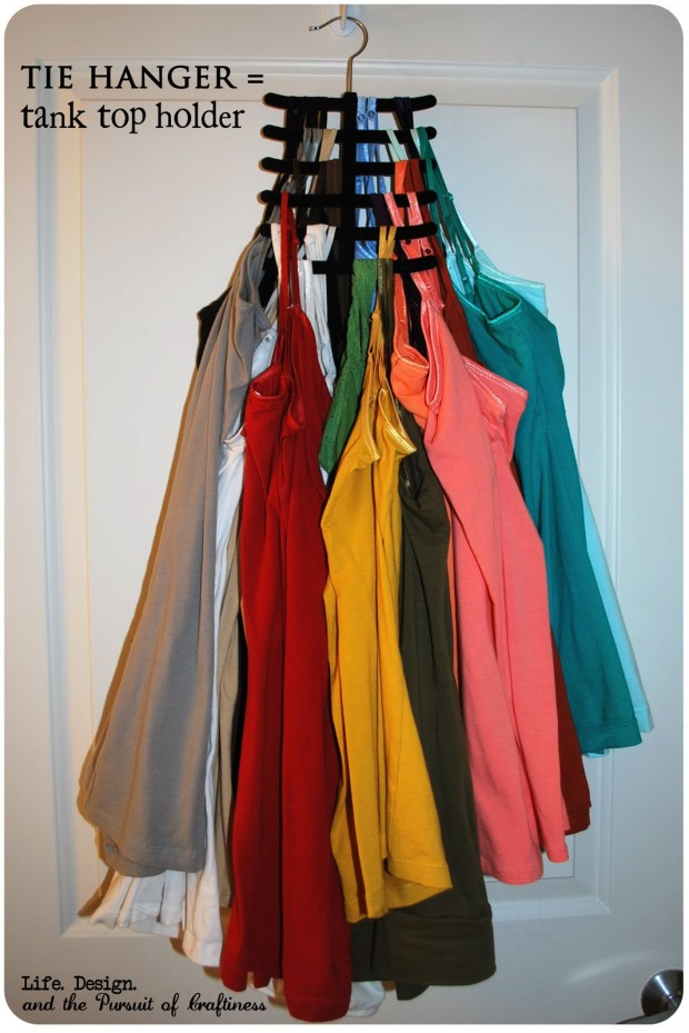 17 Clever DIY Clothing Organization Hacks  (15)