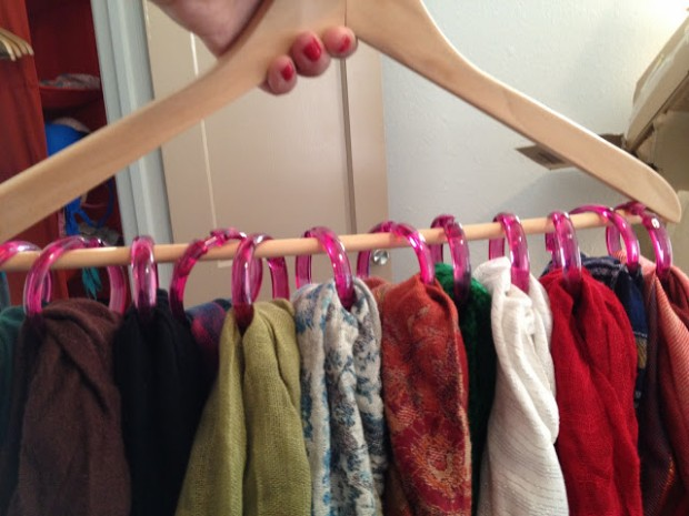 17 Clever DIY Clothing Organization Hacks  (8)