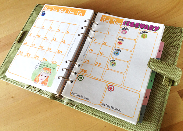 Diy Calendar Diary : Time to get organized diy planner ideas and