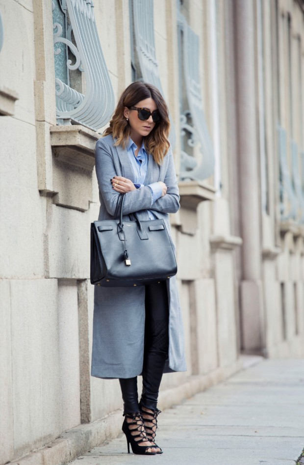 Ultimate Trend This Season   Every Shade of Grey Coat   21 Outfit ideas