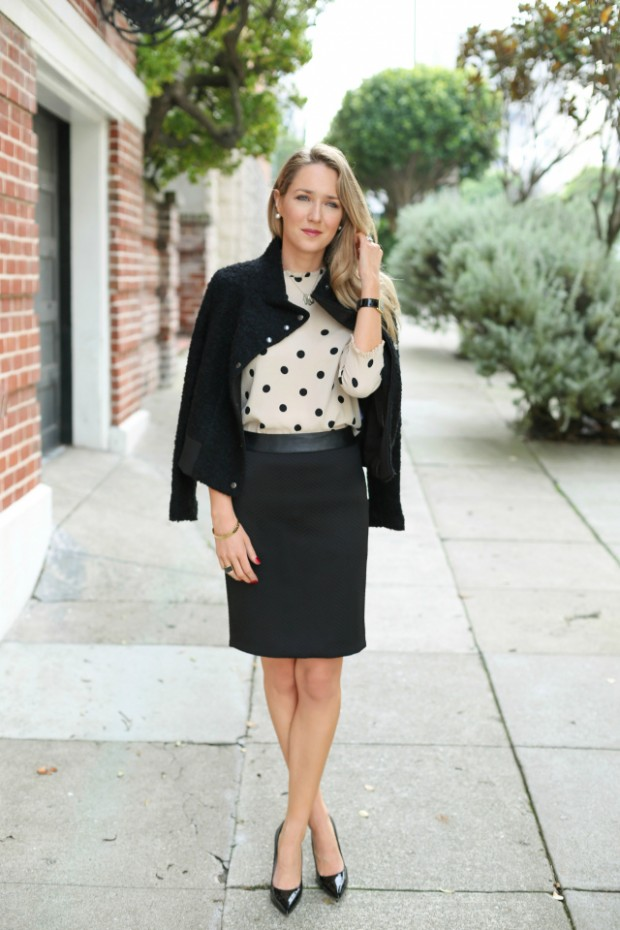 Elegant and Classy 22 Polka Dot Outfit Ideas