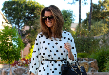Elegant and Classy - 22 Polka Dot Outfit Ideas - Stylish, polka dots, polka dot, outfit, fashion, Elegant, dotted, classy