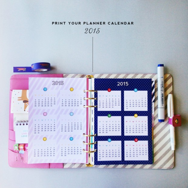Diy Calendar Organizer : Time to get organized diy planner ideas and