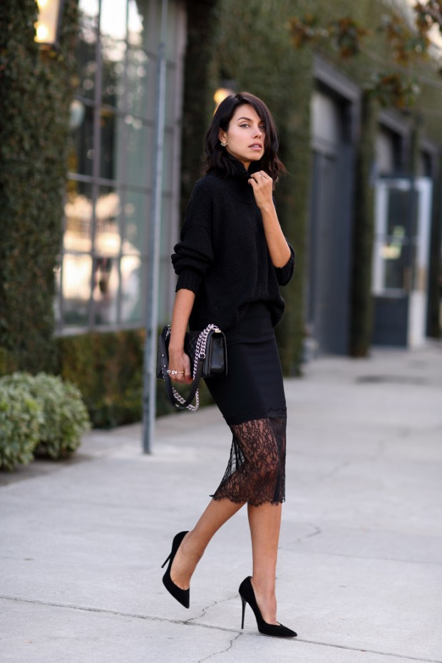 Black is the New Black   27 Simple and Elegant Monochrome Outfits