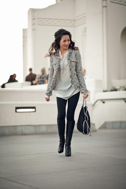 Tweed Jacket   Must Have Fashion Piece for Winter Season   18 Outfit Ideas