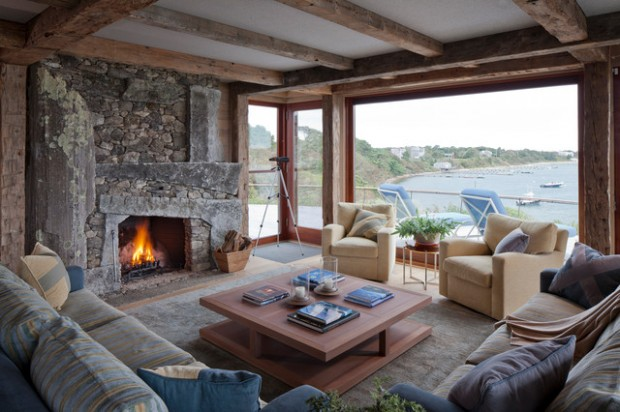 20 Amazing Fireplace Design Ideas for Cozy Rustic Interiors ...