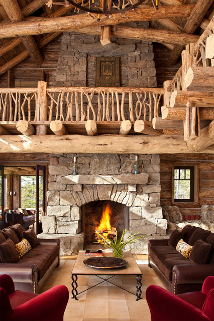 20 amazing fireplace design ideas for cozy rustic interiors - Rustic Interior Design Ideas