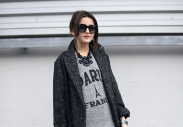 Ultimate Trend This Season - Every Shade of Grey Coat - 21 Outfit ideas - winter, grey coat, grey, fashion, cold days, coat