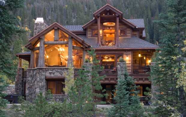 20 stunning mountain house exterior design ideas style