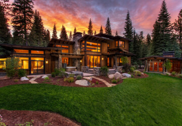 20 Stunning Mountain House Exterior Design Ideas - mountain house, houses, exterior design