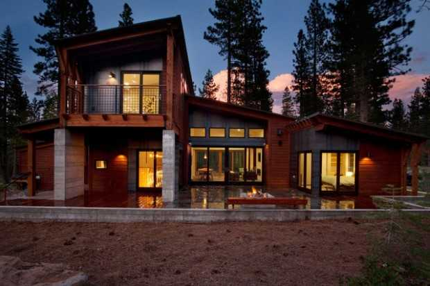 20 Stunning Mountain House Exterior Design Ideas