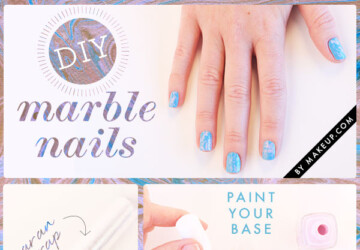 20 Easy DIY Nail Art Hacks for Perfect Manicure - step by step, nail hacks, nail art tutorials, Nail Art