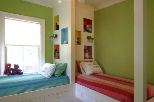 22 Great Space Saving Ideas and Tips for Small Kids Bedrooms & 22 Great Space Saving Ideas and Tips for Small Kids Bedrooms - Style ...