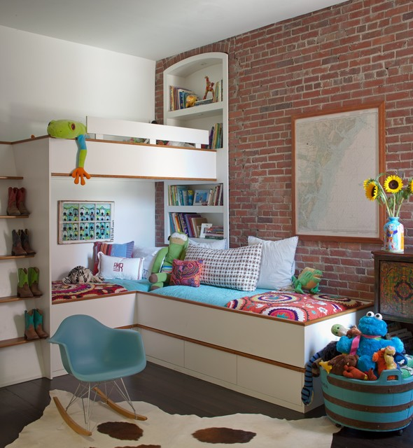 Delightful 22 Great Space Saving Ideas And Tips For Small Kids Bedrooms