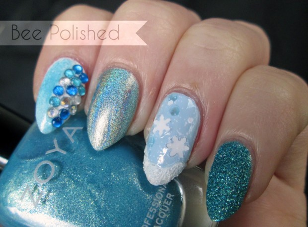 16 Beautiful Winter Inspired Nail Art Ideas to Try this Season