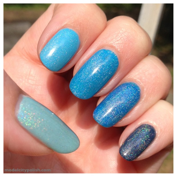 17 Gradient/Ombre Nail Art Ideas