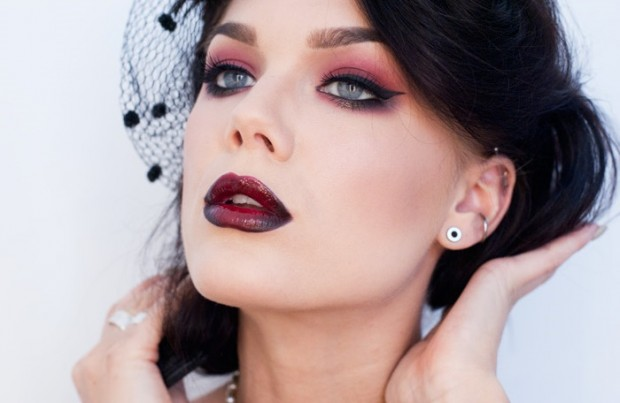 18 Seductive Berry Lips Makeup Looks