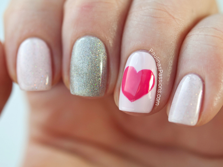 24 Cute Nail Art Ideas For Valentines Day Style Motivation