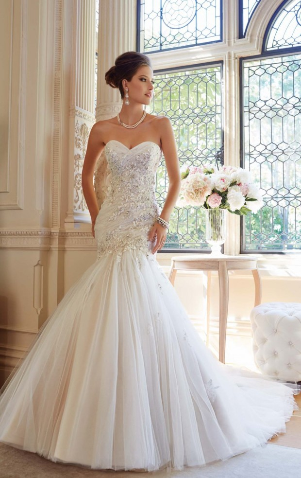30 Beautiful Mermaid Wedding Dresses